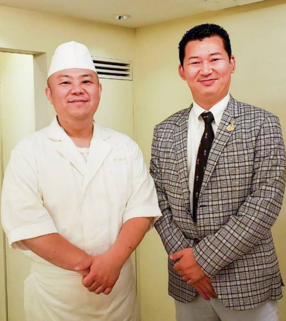 SUSHI MATSUMOTO AKASAKA with Japan Royal Service