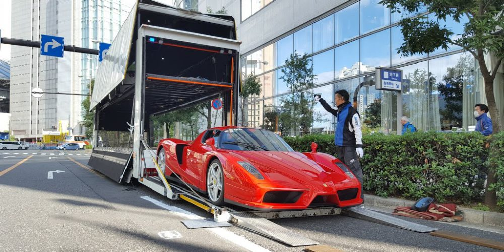 Own a Ferrari in Japan with out Residential visa ???